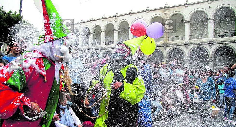 carnaval en arequipa