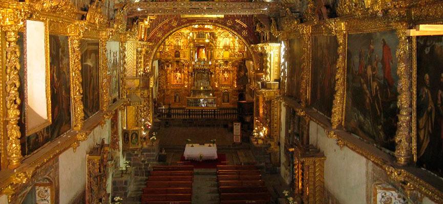 capilla sixtina de andahualillas