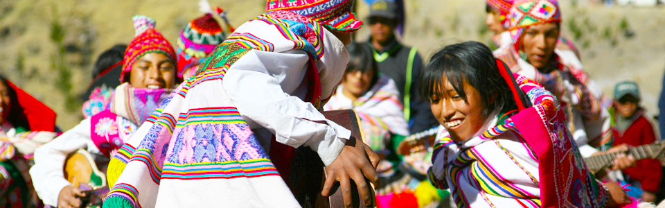 Cusco typical dance