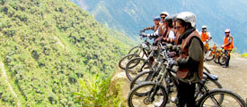 Biking the world's most dangerous road, La Paz - Bolivia