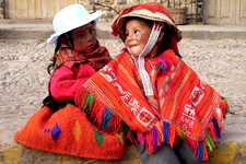 Cover photo for Peru. Kids from Ollantaytambo, Cusco.