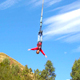 Photo preview. Bungee jump in Cusco, Peru.