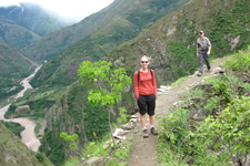 Trek to the Hydroelectric Station enroute to Machu Picchu