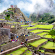The Inca Citadel of Machu Picchu Archeological Site in Peru-