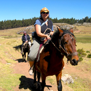 Cover Photo. Horseback riding to Maras and Moray by Cusco, P
