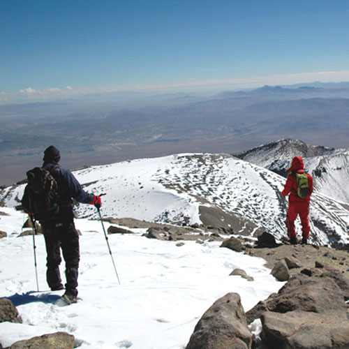 Escalada ao Nevado de Chachani