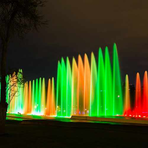 Lima Illuminated & the Fountains of Lima